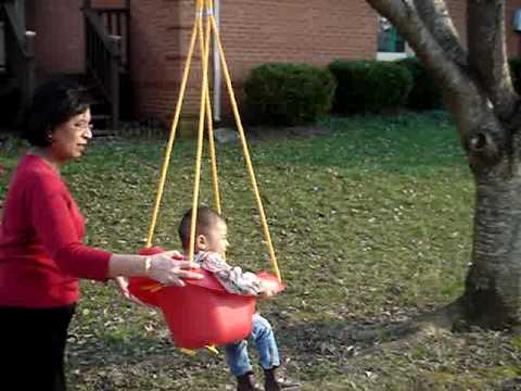 how to hang a love swing