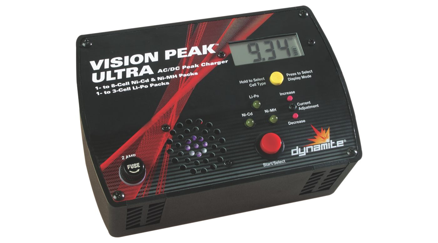 dynamite vision peak 2 charger instructions