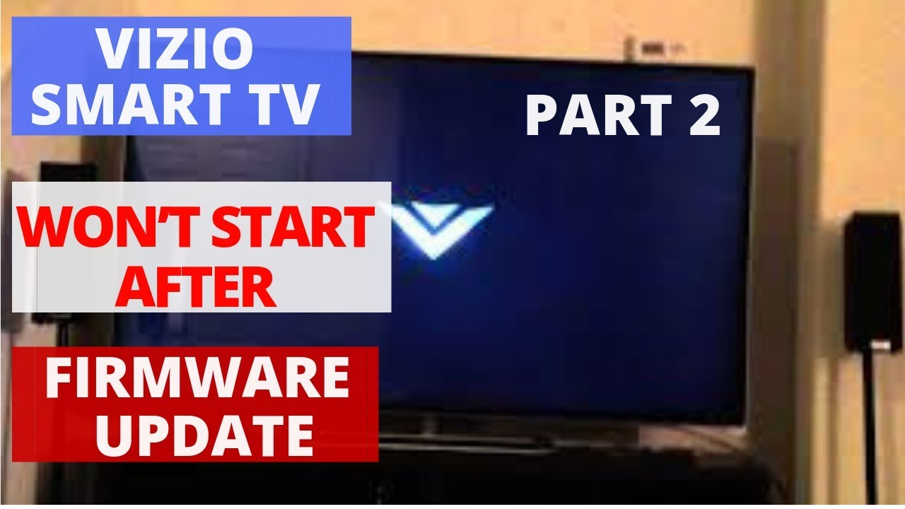 how to fix a vizio tv that wont turn on