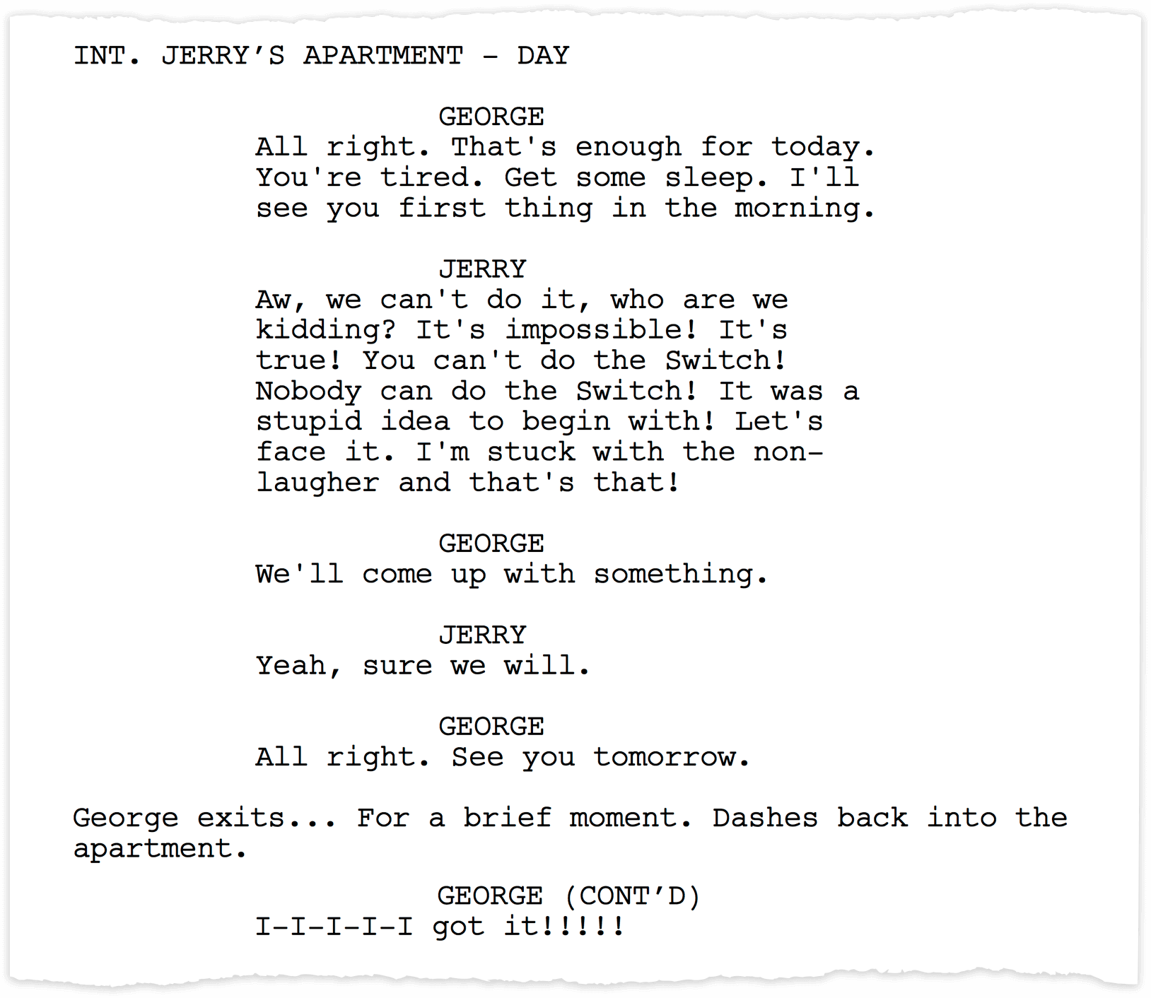 the front page play script pdf